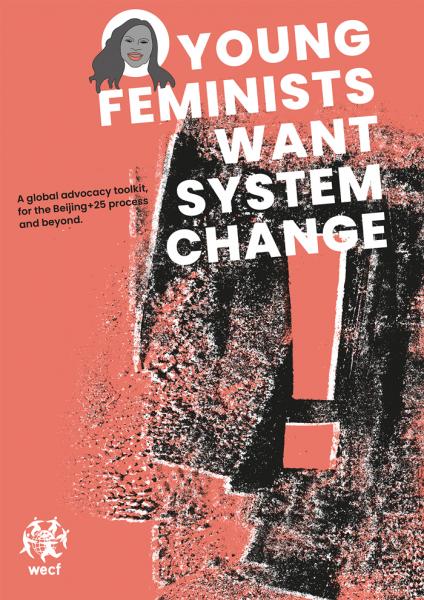 Broschüre – Young Feminin Want SystemChange