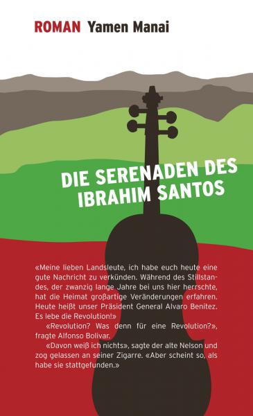 Buchcover – Die Serenaden des Ibrahim Santos
